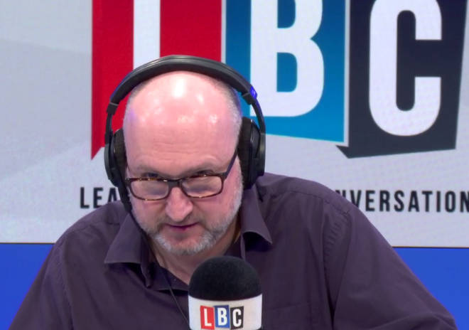 Clive Bull quizzes Labour MP Dr Paul Williams over the inclusion of 'no-deal' in a second Brexit referendum.