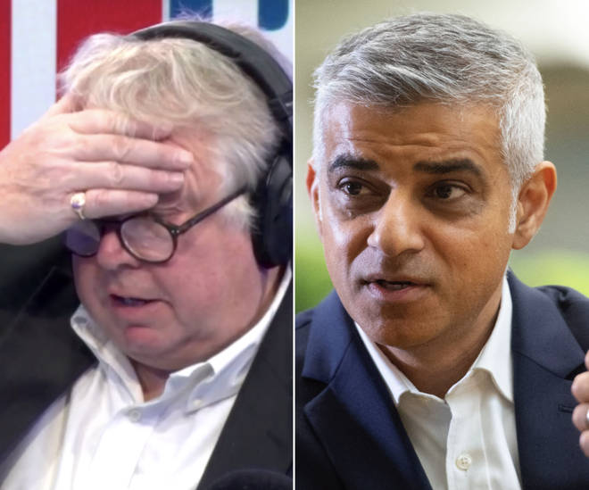 Nick Ferrari questions whether London Mayor Sadiq Khan has his priorities in the right place