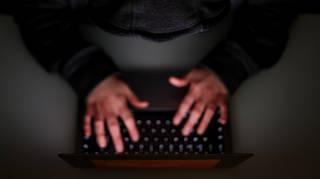 A computer user