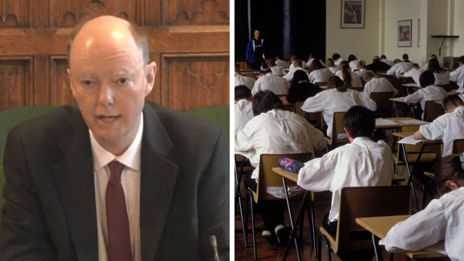 Prof Chris Whitty said all 12 to 15-year-olds were likely to get coronavirus in coming months.