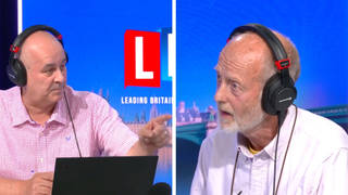 'You're the hypocrites!' Iain Dale takes on Insulate Britain protester