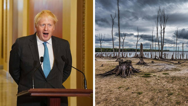 Boris Johnson compared humans to an immature teenager