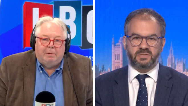 Nick Ferrari challenged Paul Scully over Universal Credit