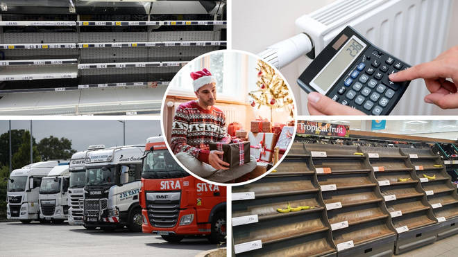There are fears of a number of supply chain issues this winter.