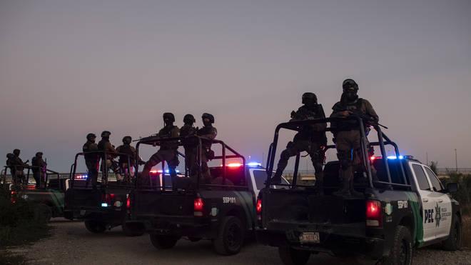 Mexico US Border Migrants