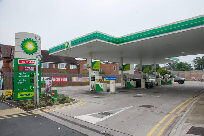 """BP has already had to close a """"handful"""" of petrol stations"""