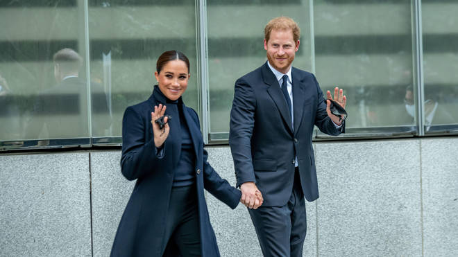 One World Trade Center was the first stop on the The Duke and Duchess of Sussex's visit to New York