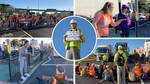 Insulate Britain protesters have blocked the main road into Dover ferry port