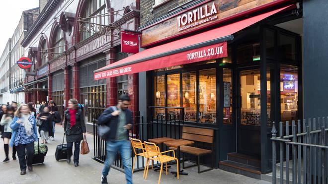 Tortilla branch