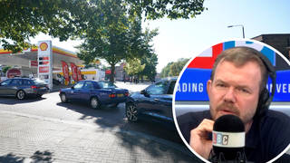 James O'Brien reacts to petrol driver crisis as PM warns against panic buying