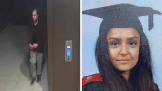 Police have released moving CCTV footage of a man they want to speak to in connection with the murder of Sabina Nessa.
