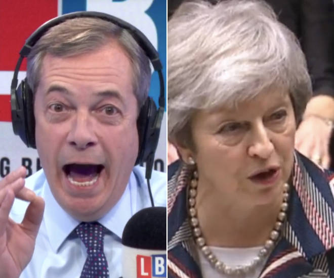 Nigel Farage says Theresa May has found her 'Black Friday moment' as she sells her Brexit deal to the country