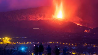 """More towns have been evacuated on La Palma as the volcano activity """"intensifies"""""""