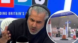 Maajid Nawaz clashes with caller 'pinning' HGV driver shortage on Brexit