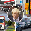 There are queues at a number of petrol stations this morning.