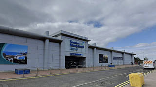 There has been an aircraft accident at Teeside International Airport.
