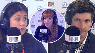 Lisa Nandy was grilled on Tom Swarbrick's show about Angela Rayner's controversial comments.