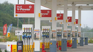 Thousands of petrol stations have run out of fuel after days of panic buying by motorists