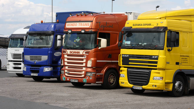 Lorry drivers have left the profession due to working conditions.