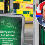 Panic buying since Friday has added to issues with an HGV driver shortage