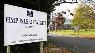 HMP Isle of Wight said it was distributing pronoun badges as part of National Inclusion Week