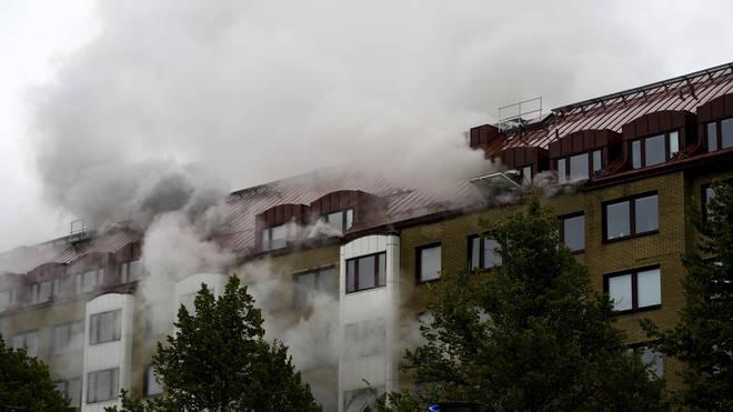 Sweden apartments blast