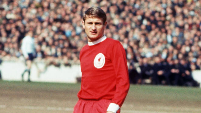 Roger Hunt played for Liverpool.