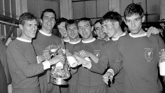 Liverpool won the FA Cup in 1965.