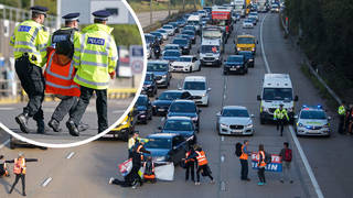 53 Insulate Britain protesters have been released by police after an M25 protest on Monday.