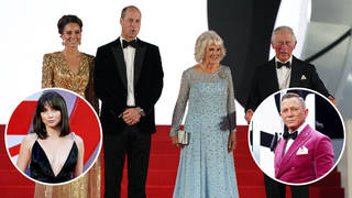 Four members of the Royal family attended the No Time To Day premiere alongside a star studded cast for Daniel Craig's last appearance as Bond.