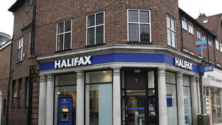 A Halifax bank branch