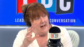 'We don't tolerate the Yorkshire ripper, but we tolerate lesser offences': Shelagh Fogarty condemns tolerance of male violence