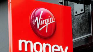 Virgin Money sign