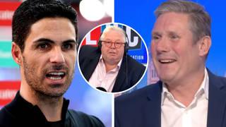 Nick Ferrari asks Sir Keir Starmer is he's 'the Mikel Arteta of British politics'