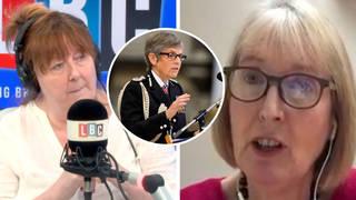 Hariett Harman tells LBC why she wants Cressida Dick to resign