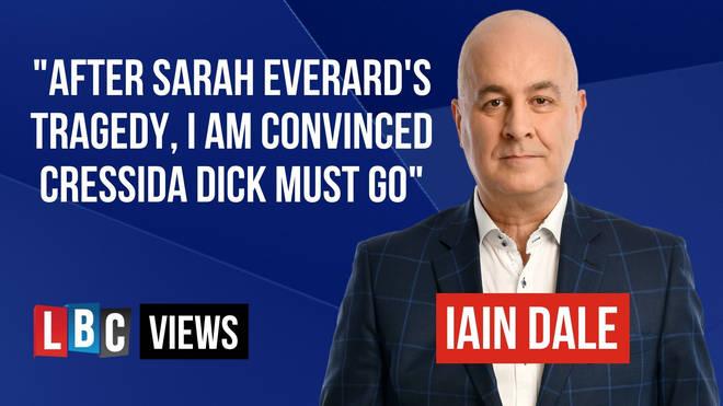 Iain Dale says Cressida Dick must go