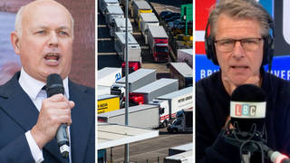 Haulage industry has 'serious measure of blame' for HGV shortage, Iain Duncan Smith insists