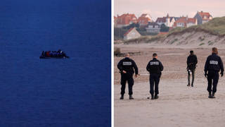 French police have been accused of shooting migrant boats trying to cross the English Channel.