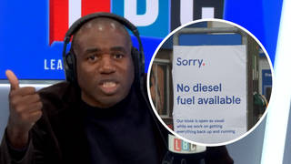 David Lammy's damning take on the UK fuel crisis