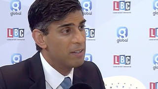 """Rishi Sunak said """"there is clearly questions for the Metropolitan Police to answer"""""""