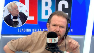 James O'Brien reacts as ex-Brexit Secretary blames industry for driver shortage