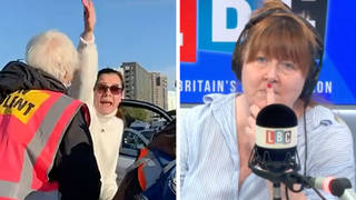 Caller defends eco-mob blocking woman visiting mother in hospital