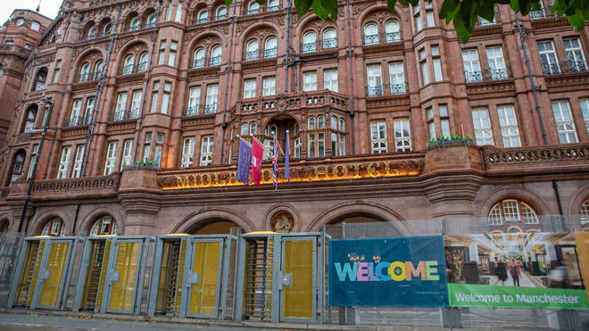 The alleged attack happened at the Midland Hotel in Manchester