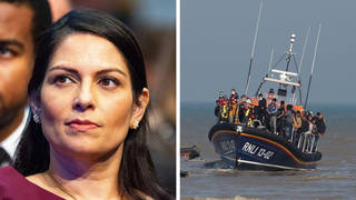 Priti Patel will address the migrant crisis during her Tory conference speech.
