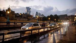 It comes weeks after Tower Bridge flooded on September 14 after hours of heavy rain