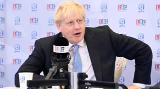 Boris Johnson said the Insulate Britain protests are 'insane'