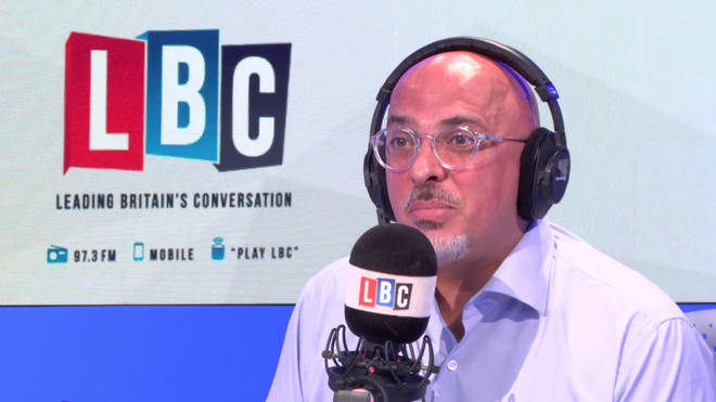 Nadhim Zahawi joined Iain Dale for an LBC phone-in on Tuesday