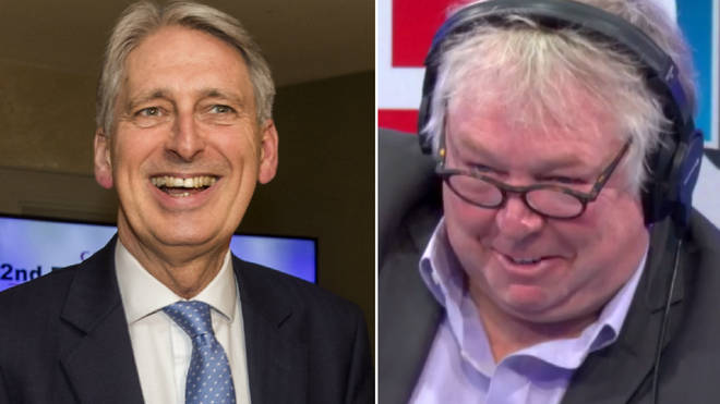 Nick Ferrari had a very entertaining chat with Philip Hammond