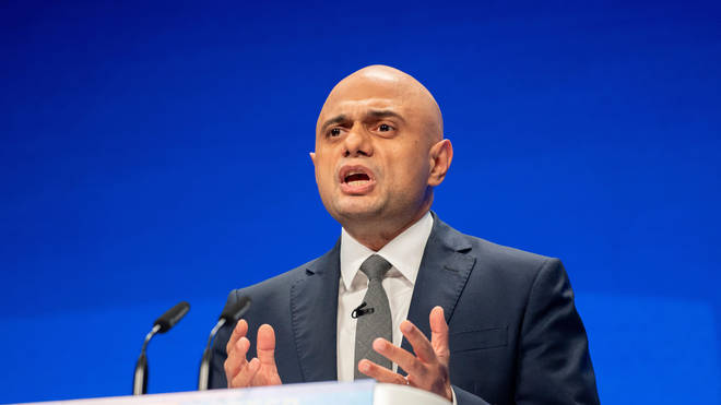 Sajid Javid made the comment during his speech at the Tory conference.