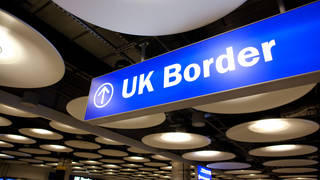 Shabazz Suleman was arrested at Heathrow Airport